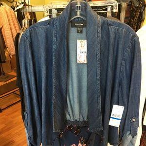 Karen Kane jean jacket NWT